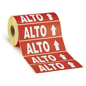 Etichetta di segnalazione ALTO per imballaggi ETIC152IT