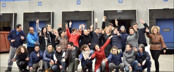 Lo staff Rajapack Italia al completo