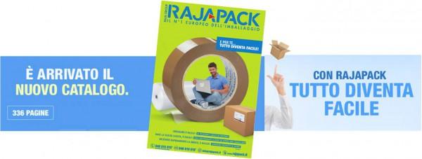 Nuovo Catalogo Rajapack più facile consultazione