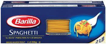 packaging Barilla
