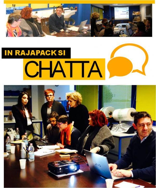 Rajapack chatta con i clienti