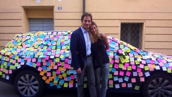 post-it matrimonio per scherzo