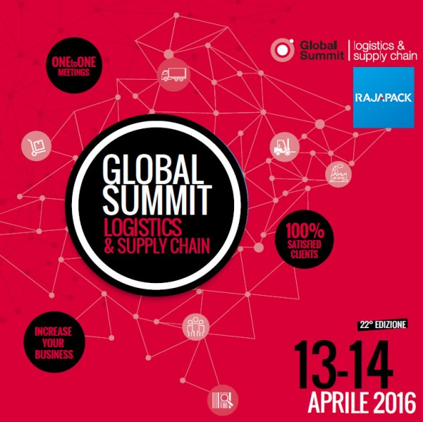 Rajapack Italia al Global Summit Logistics