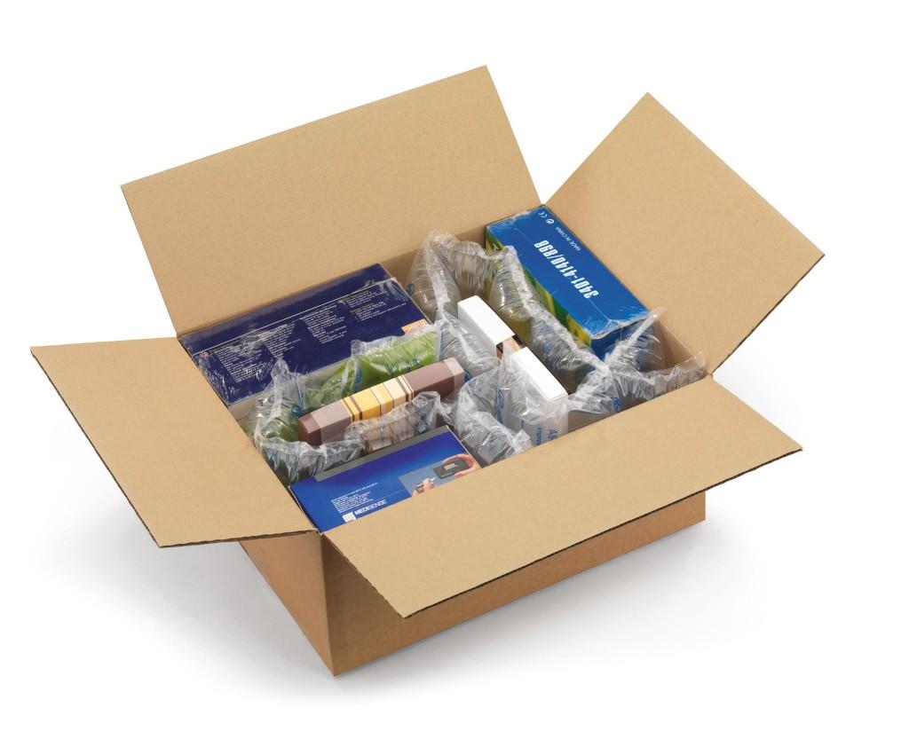 scatola con cuscini