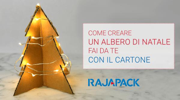 Albero Di Natale Fai Da Te Con Le Scatole Rajapack Blog Rajapack